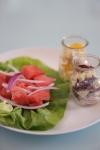 Radicchio e Mela https://gikitchen.wordpress.com/2012/08/28/tris-insalate-frutta-verdura-vegane-vegetariane/