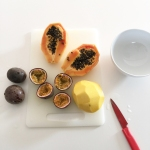 Papaya e Passion Fruit