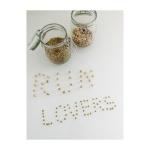 Dopo ti ho scritto ti amo sulla sabbia. Ho scritto RunLovers con ceci e lenticchie
